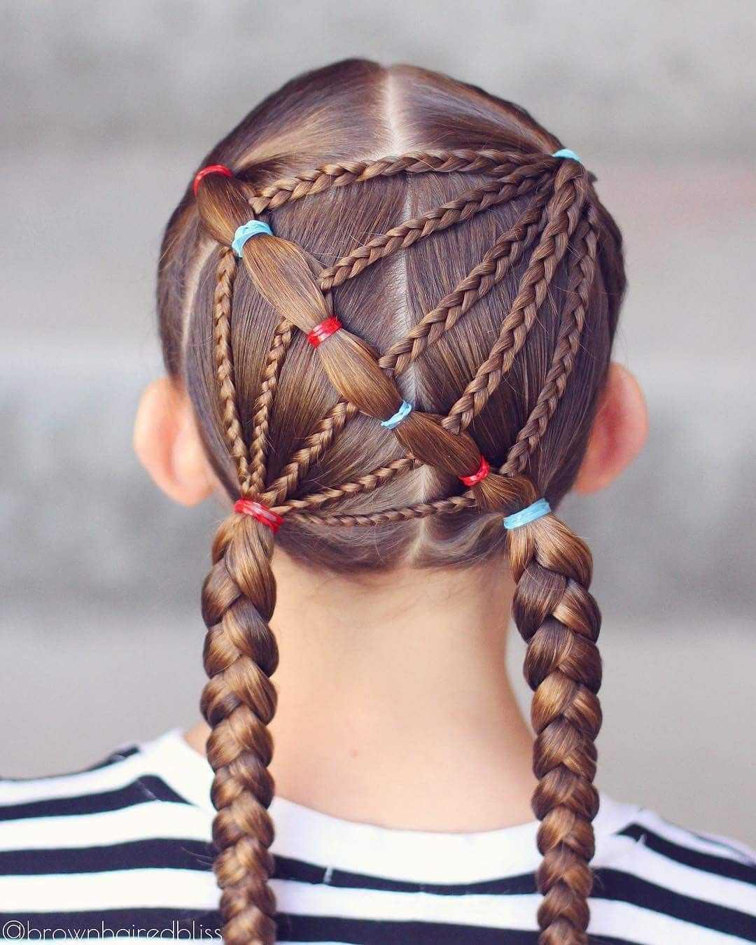 Лучшие косички для девочек на длинные, средние и короткие волосы