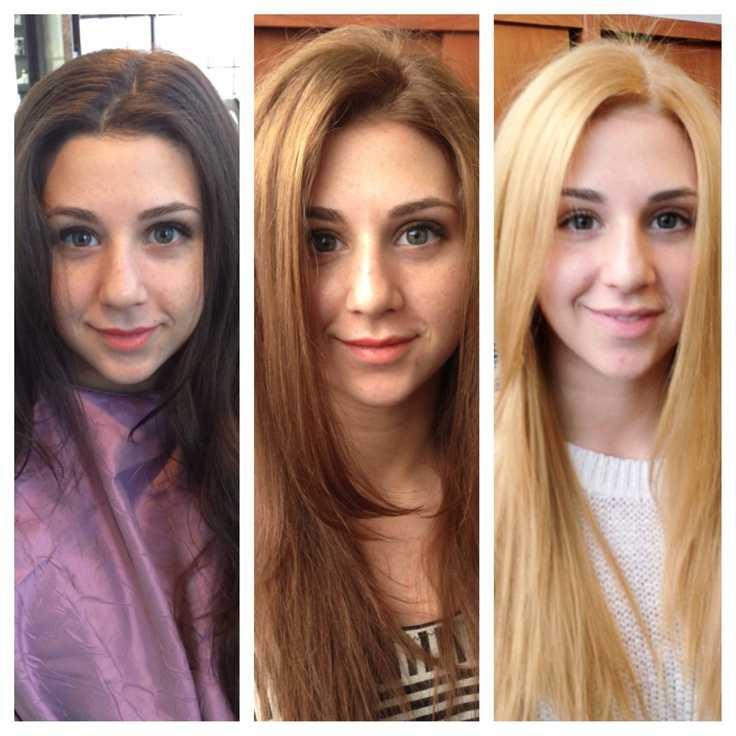 Основные секреты окрашивания волос в блонд без желтизны