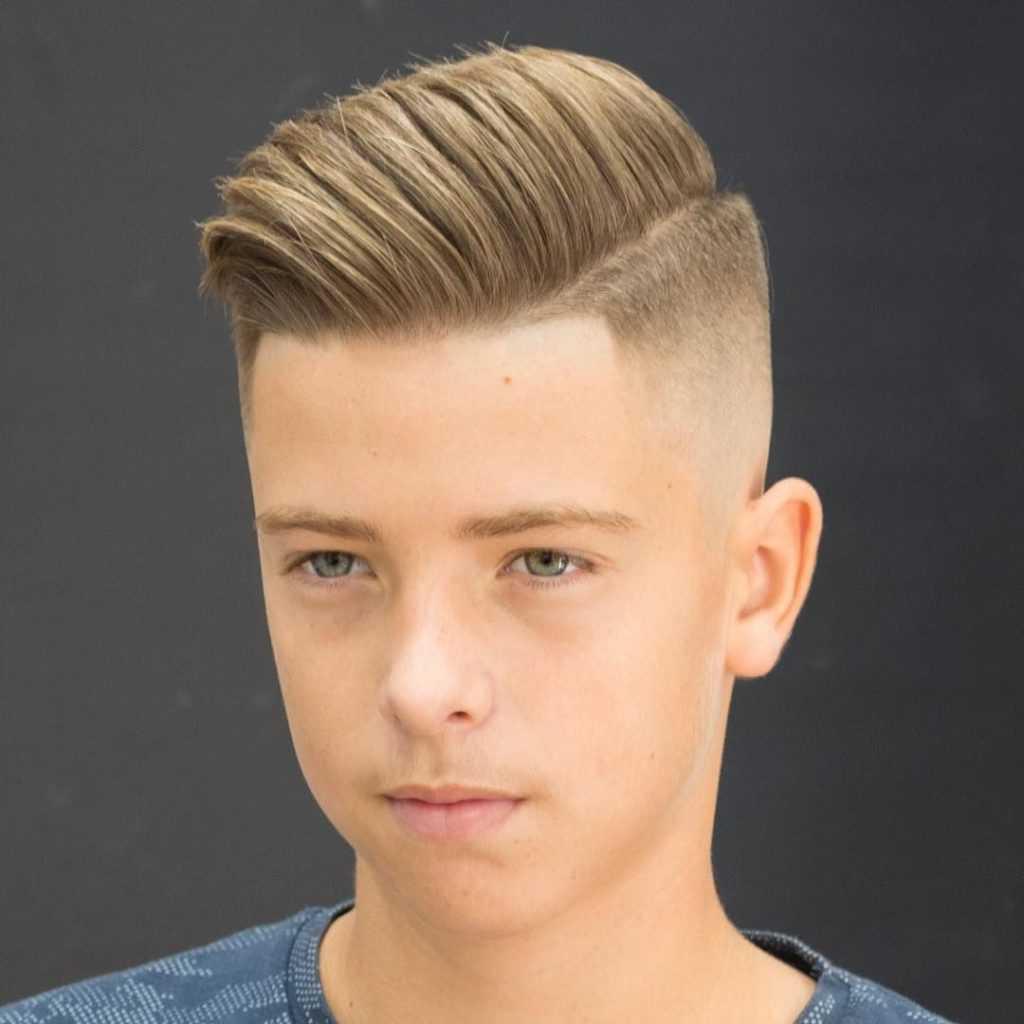 Модные стрижки для подростков мальчиков 2019-2020 141 лучшее фото