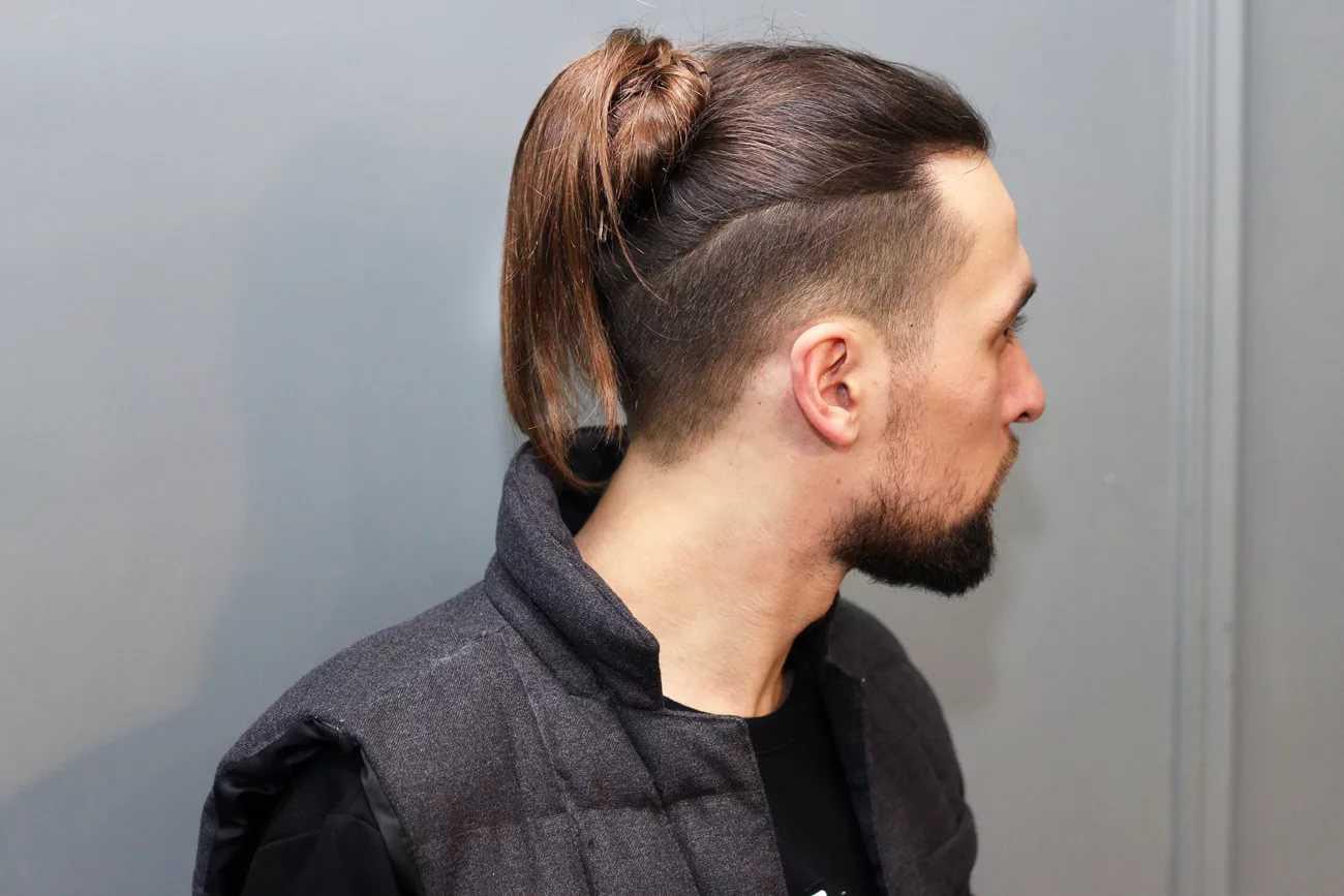 Мужская стрижка каре