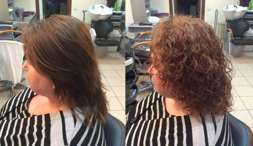 Карвинг на средние волосы