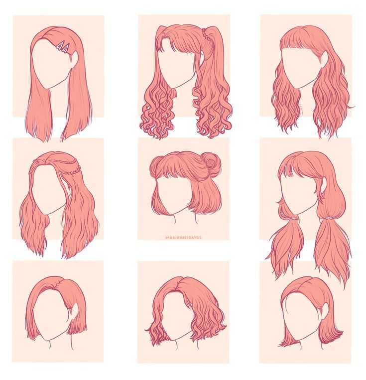 Топ-10 легких причесок на средние волосы