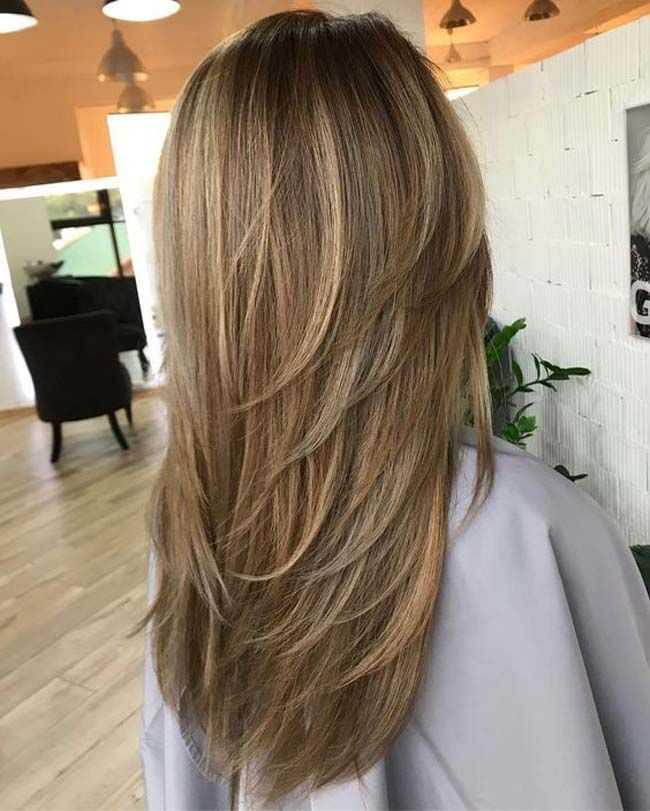 Стрижки на длинные волосы без челки. фото, новинки 2020, каскад, длинное каре, вид спереди и сзади