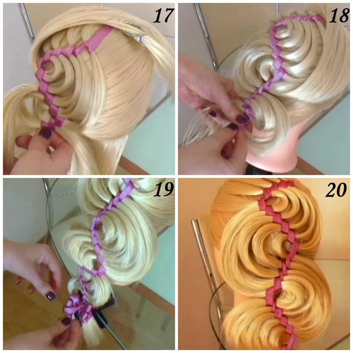 Как вплести ленту в косу: поэтапная инструкция