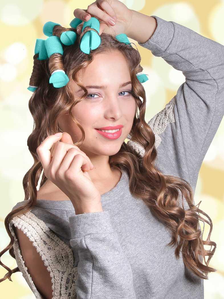 Как правильно накрутить волосы на тряпочки, пошаговая инструкция