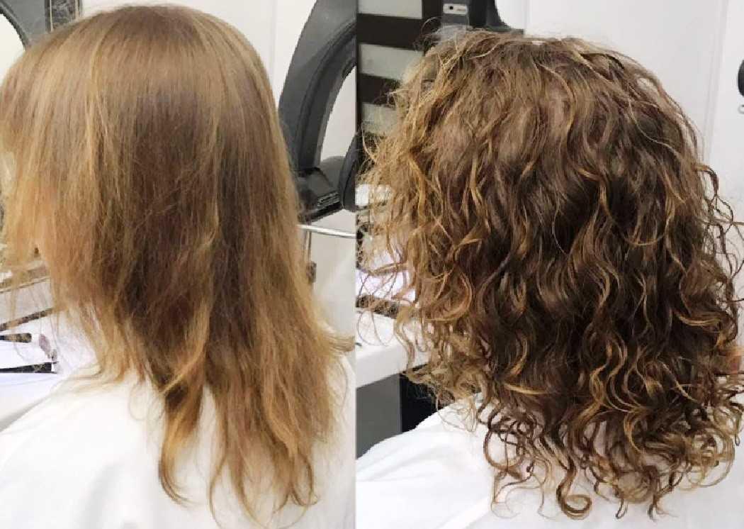 Биозавивка волос на короткие средние и длинные волосы + фото