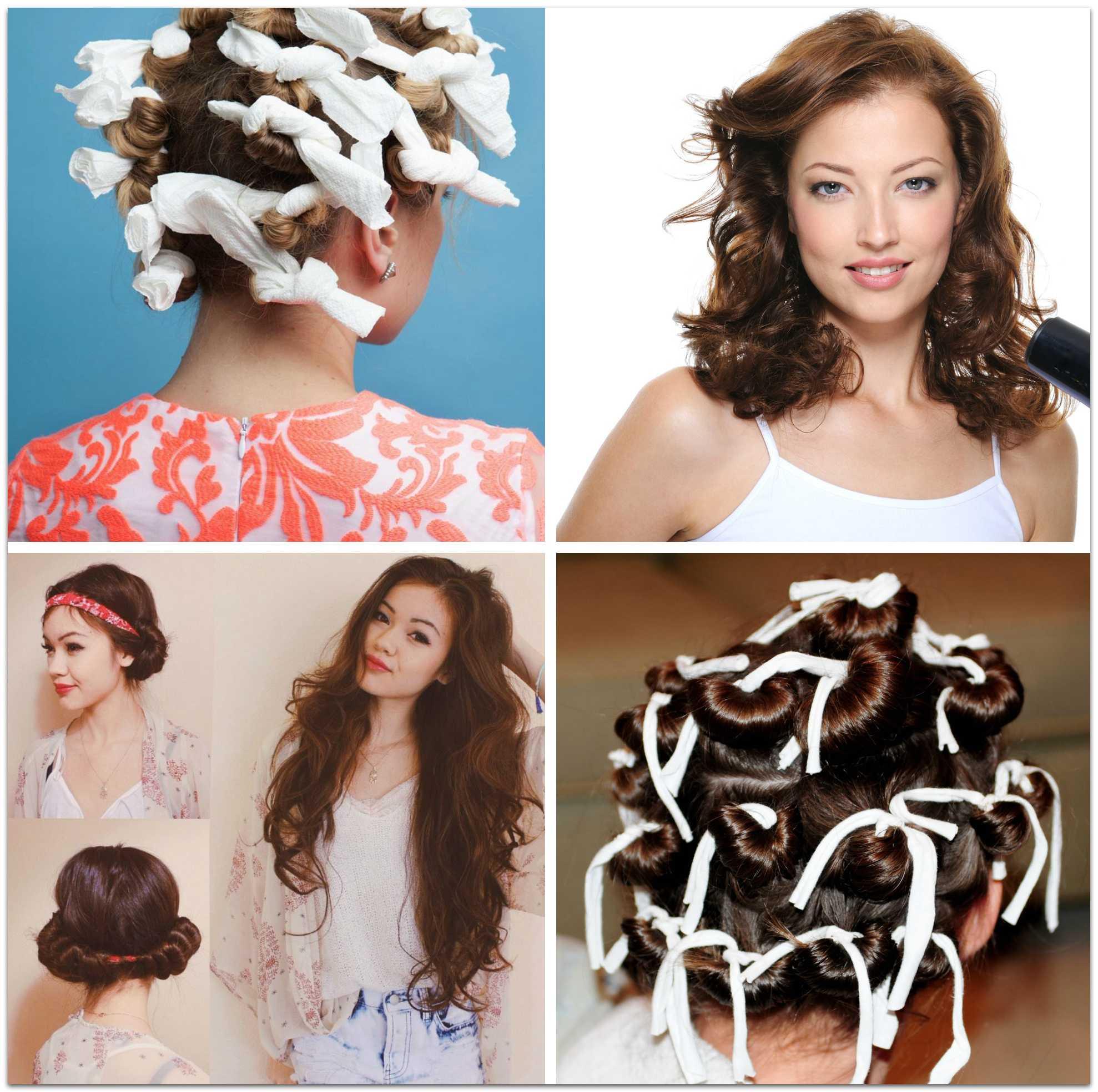 Тряпочки: как накрутить волосы ребенку, пошаговая инструкция