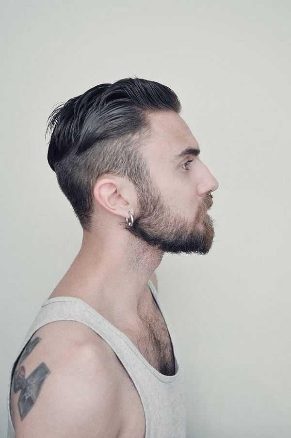 Мужские стрижки для волос средней длины: классика и тренды
