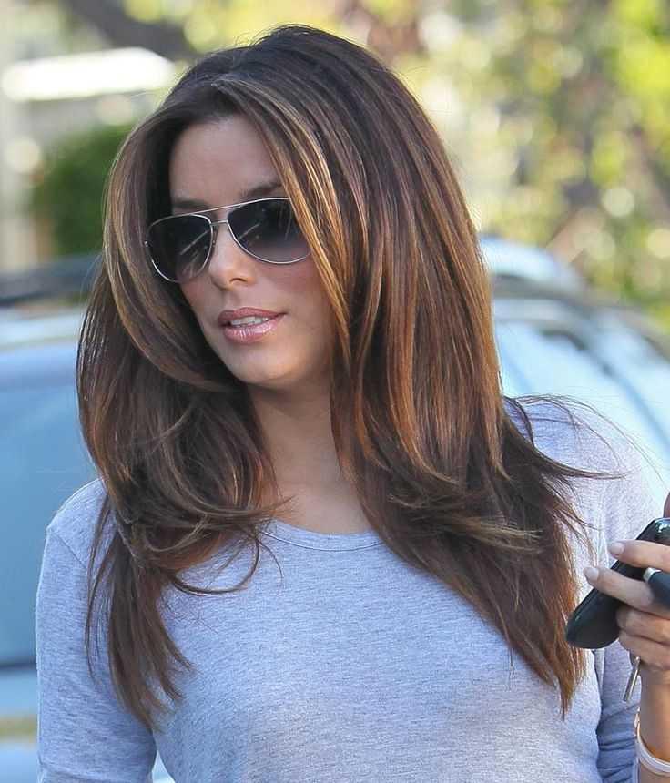 Градуированная стрижка на средние, длинные и короткие волосы фото