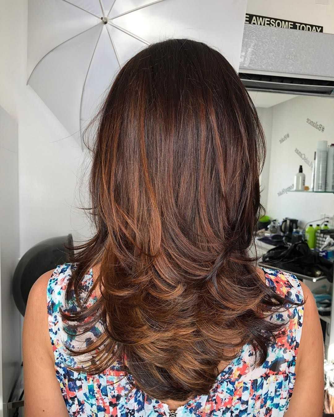 Градуированная стрижка на короткие, средние, длинные волосы