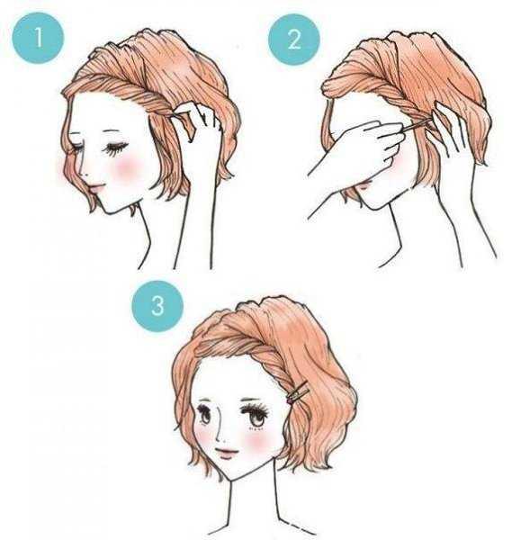 Стрижки для волос темных оттенков