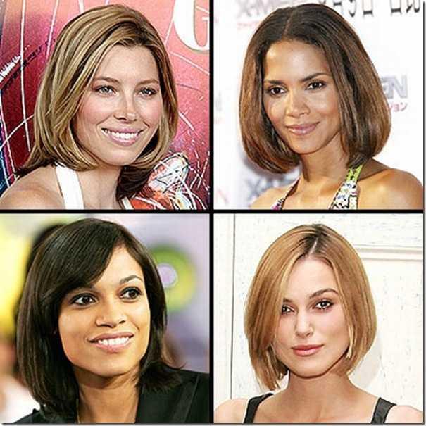 Как делают каре и каскадную стрижку на средние волосы