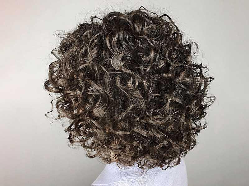 Как укладывать волосы после химической завивки
