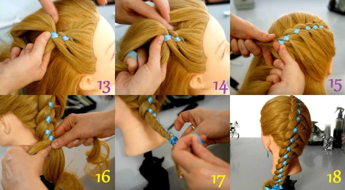 Плетение косы на выворот: 8 красивейших укладок на основе косички наизнанку