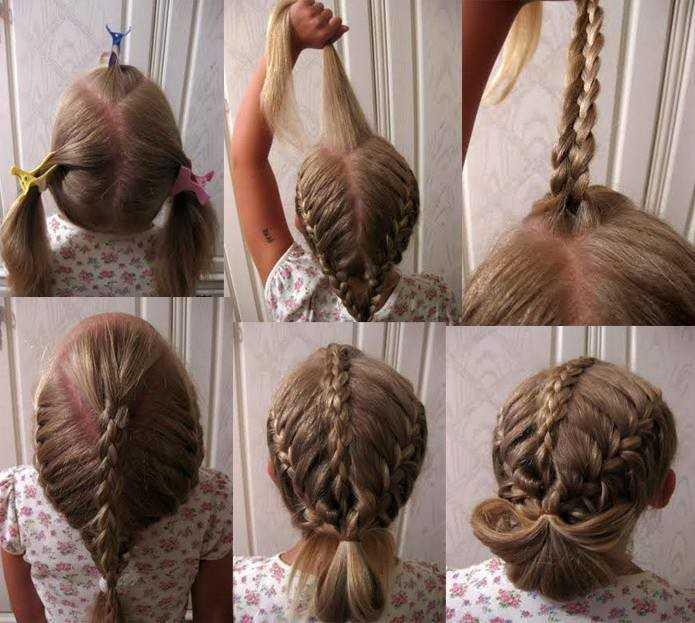 32 варианта косичек для девочек на любую длину волос