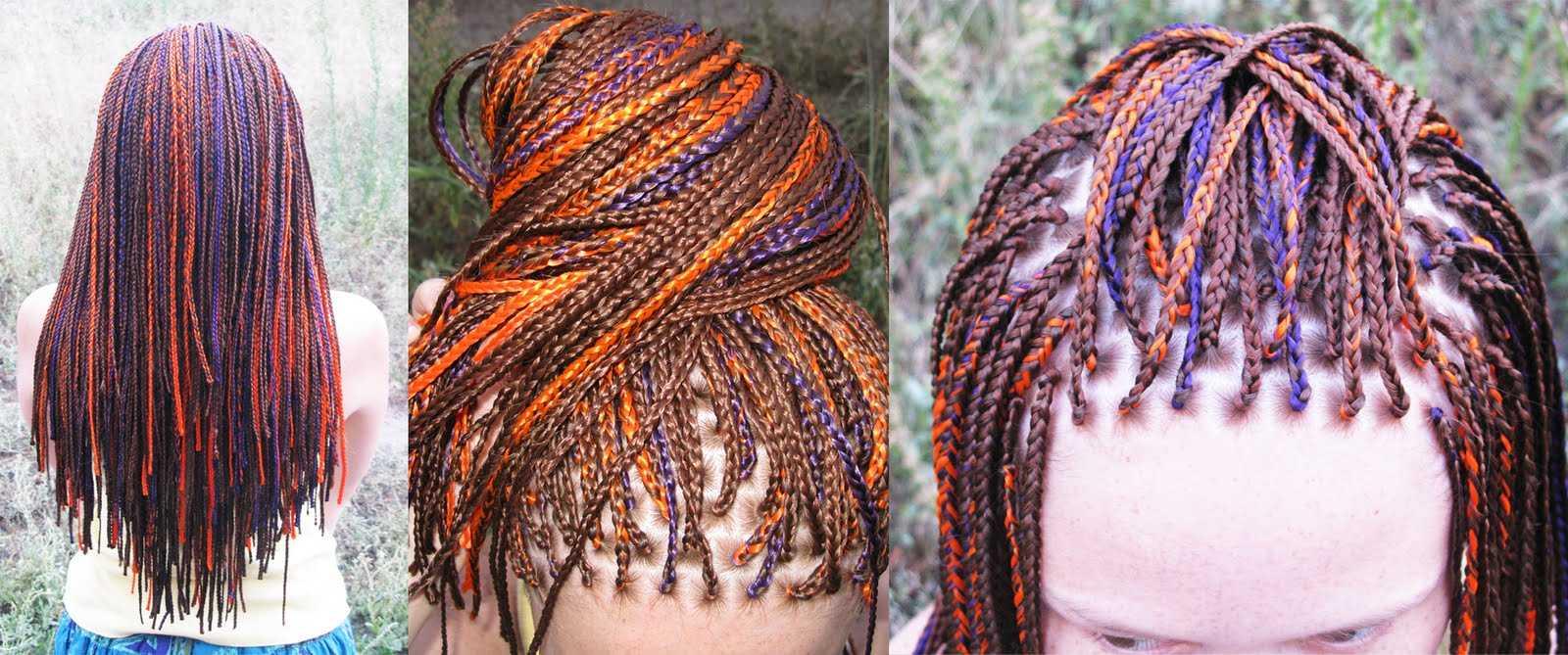 Плетение африканских косичек и их разновидности
