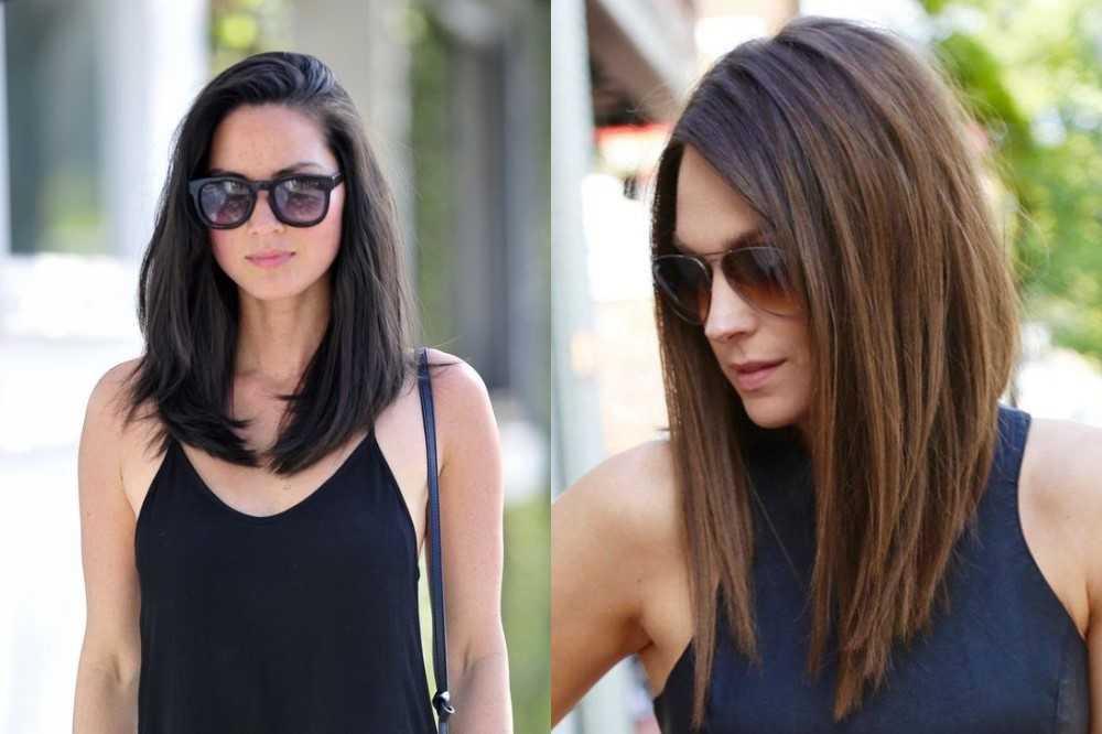 Каре на длинные волосы: разновидности стрижек и фото