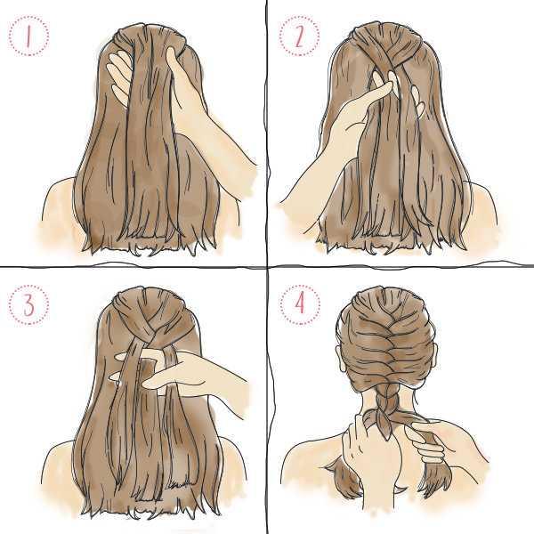 Красивые и легкие косы самой себе