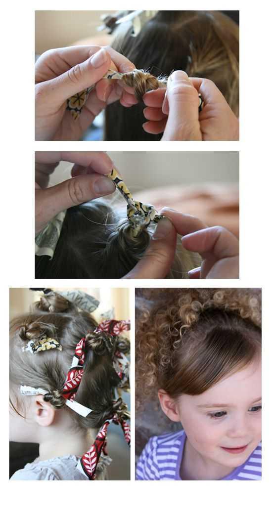 Красивые локоны на средние волосы в домашних условиях