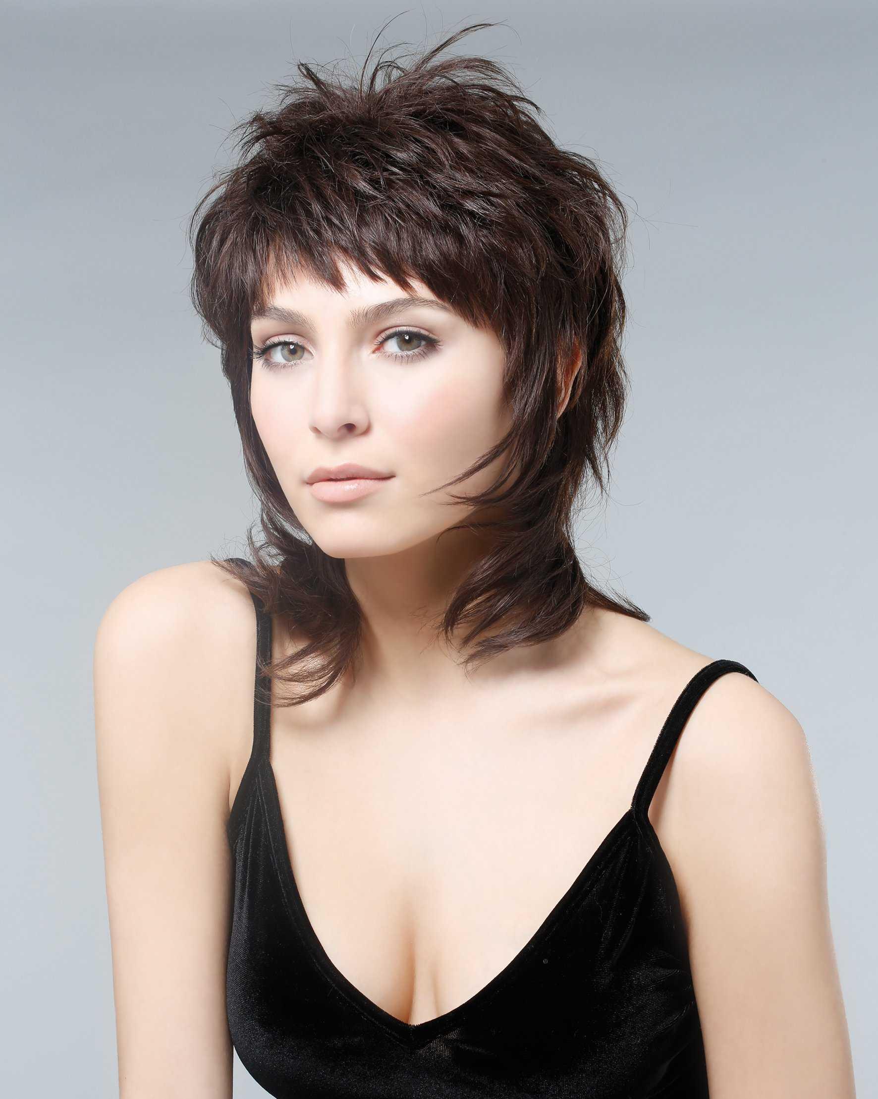 Стрижка рваный каскад для разной длины волос