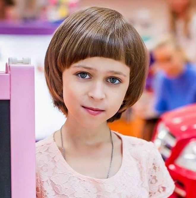 Стрижки для девочек 6 7 лет