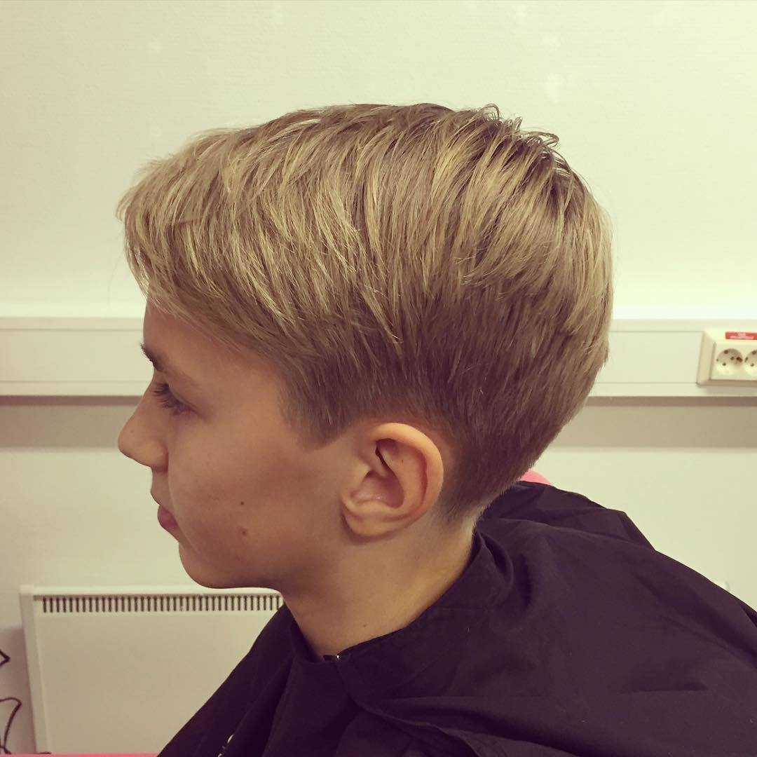 Стрижки для мальчиков: фото стрижек для мальчиков разного возраста