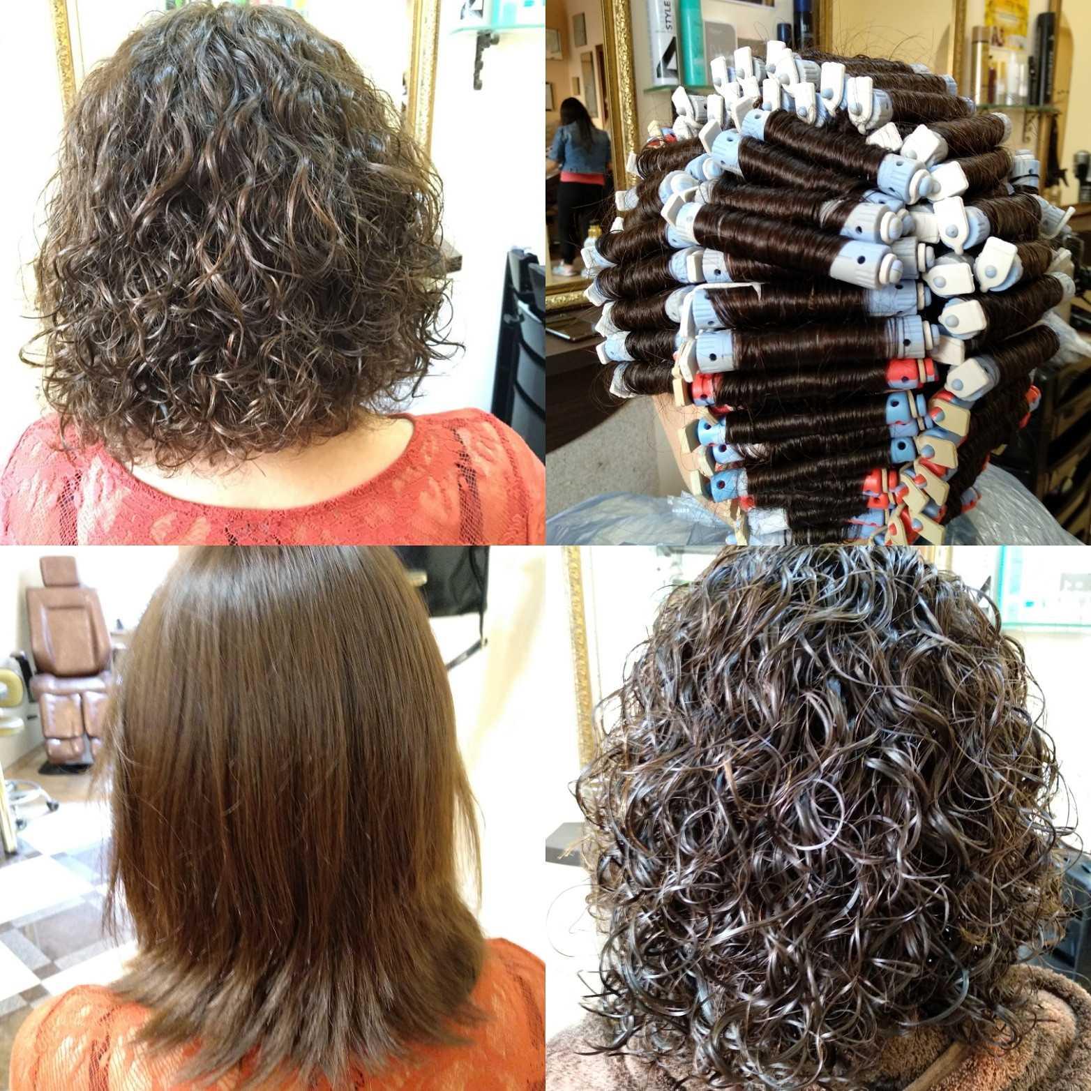 Виды биозавивки для коротких волос