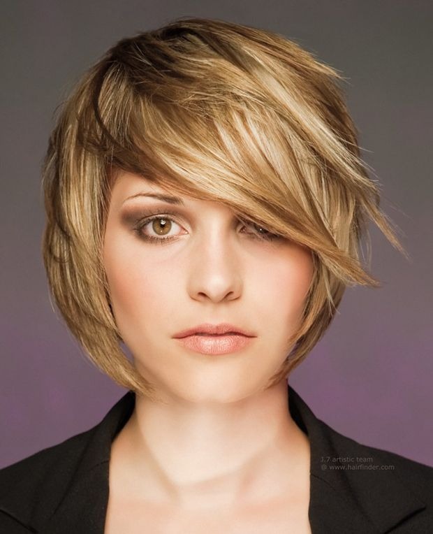 Стрижка каскад на короткие, средние волосы с фото
