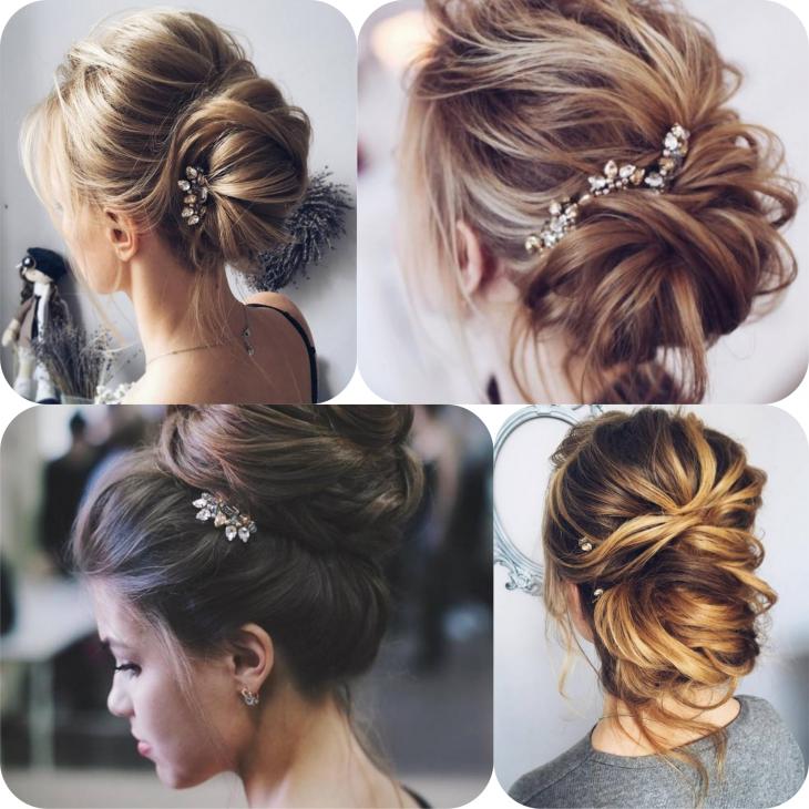 Модные стрижки на средние волосы, фото
