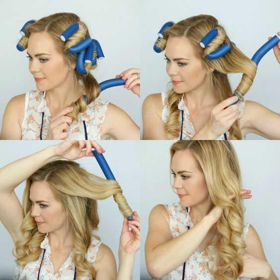 Как накрутить волосы на тряпочки – способы, о которых вы не знали