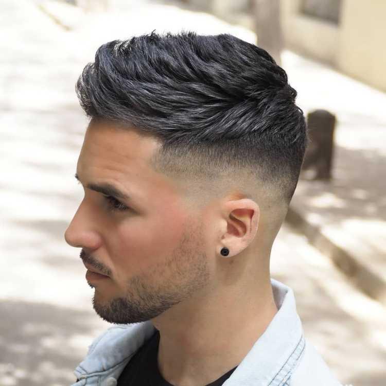 Мужские прически с выбритыми висками: как стричь волосы