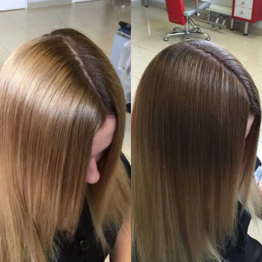 Можно ли сделать мелирование на окрашенные волосы?