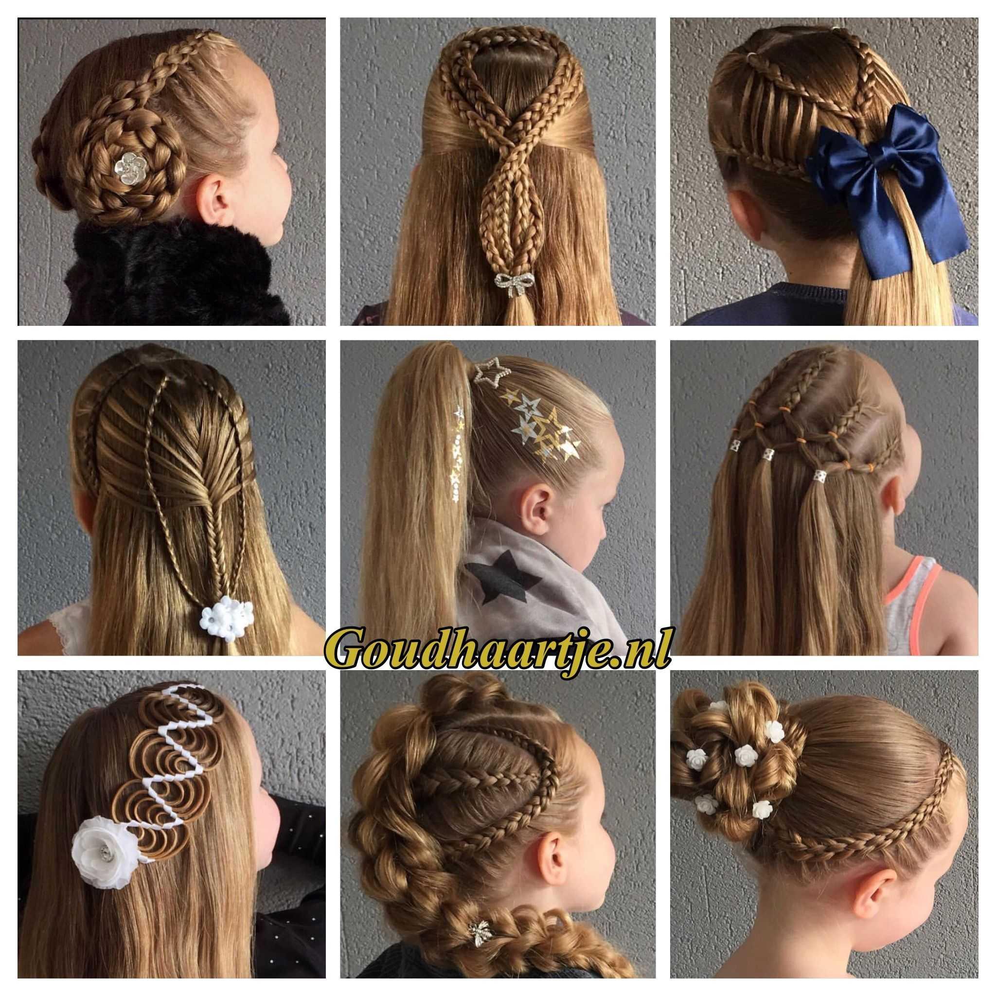 Плетение косичек для девочек: фото-инструкции с видео