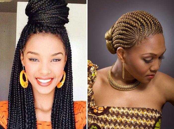Афрокосы – модный выбор прически для девушек и женщин