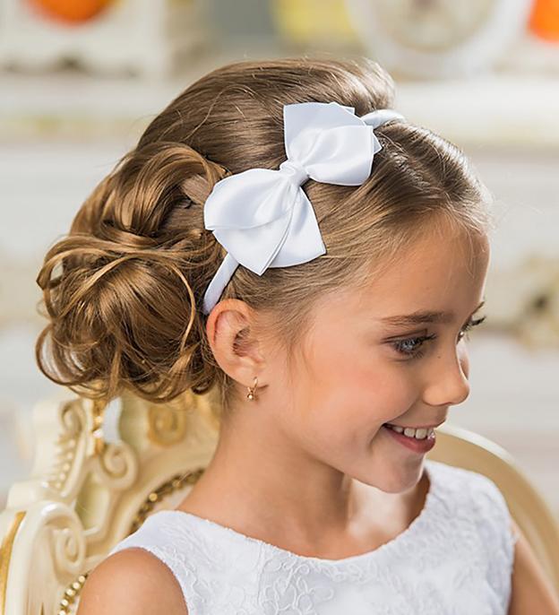 Прически девочкам на длинные волосы на праздник, выпускной в детском саду, школе. фото, как сделать своими руками пошагово