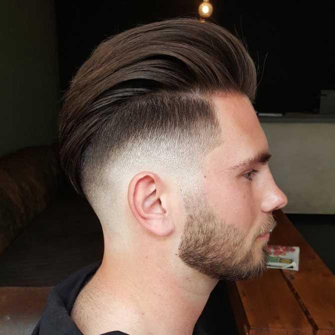 Коротко и смело: стрижки с выбритыми висками